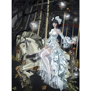 Haunted Carousel 1000 Piece Jigsaw Puzzle