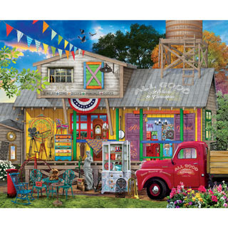 All Good Antiques 1000 Piece Jigsaw Puzzle