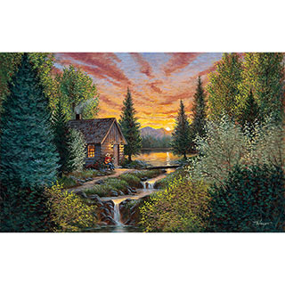Mountain Music 300 Large Piece Jigsaw Puzzle