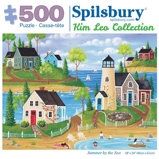 Summer by the Sea 500 Piece Jigsaw Puzzle