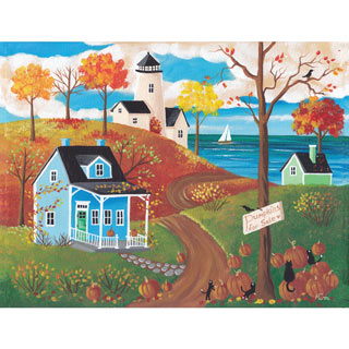 First Day of Autumn 500 Piece Jigsaw Puzzle