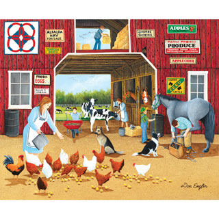 Hay for Sale 1000 Piece Jigsaw Puzzle