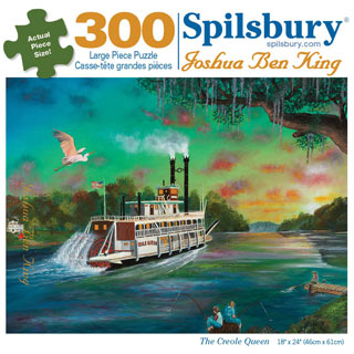 The Creole Queen 300 Large Piece Jigsaw Puzzle