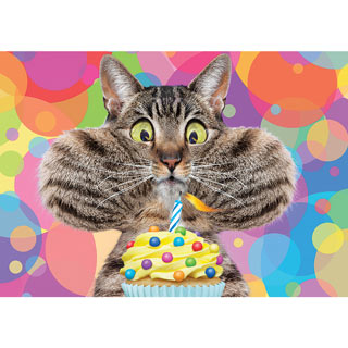 Birthday Candle 300 Large Piece Jigsaw Puzzle
