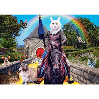 Cattopia 300 Large Piece Jigsaw Puzzle