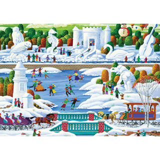 Wisconsin Snow Sculptures 1000 Piece Jigsaw Puzzle