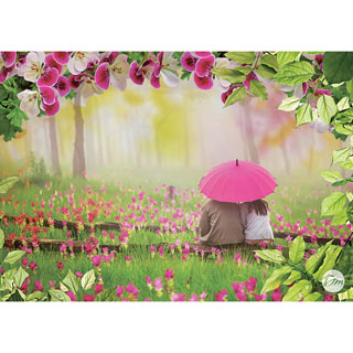 Under the Umbrella 1000 Piece Jigsaw Puzzle