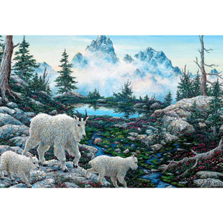 Alpine Country 300 Large Piece Jigsaw Puzzle