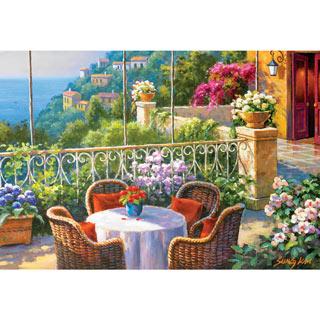 A Terrace Café 500 Piece Jigsaw Puzzle