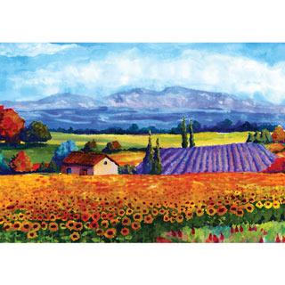 Rural Landscape 1000 Piece Jigsaw Puzzle
