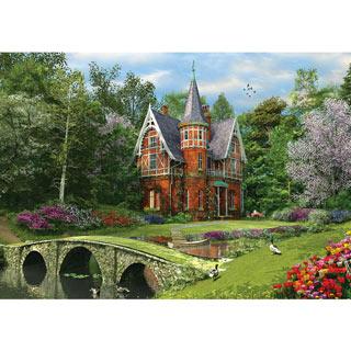 Cobbled Bridge Cottage 1000 Piece Jigsaw Puzzle