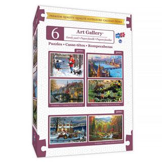 6 in 1 Art Gallery Multipack