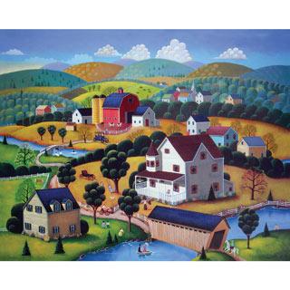 Nostalgic Autumn 300 Large Piece Jigsaw Puzzle