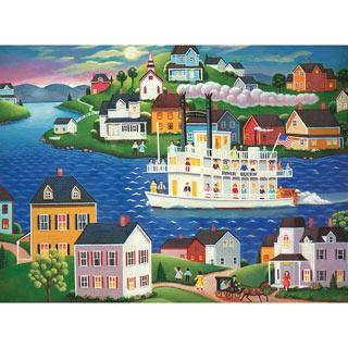 Evening Cruise 300 Large Piece Jigsaw Puzzle