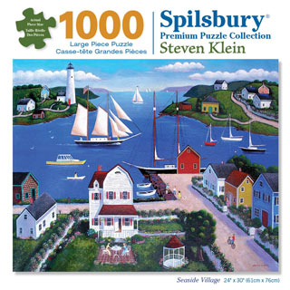 Seaside Village 1000 Piece Jigsaw Puzzle
