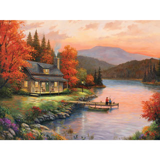 Together At Dusk 500 Piece Jigsaw Puzzle