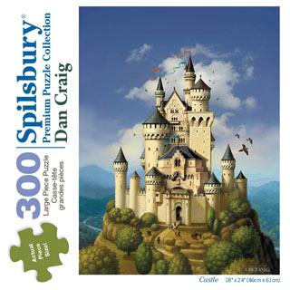 Castle 300 Large Piece Jigsaw Puzzle