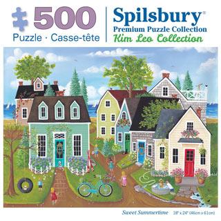 Sweet Summertime 500 Piece Jigsaw Puzzle