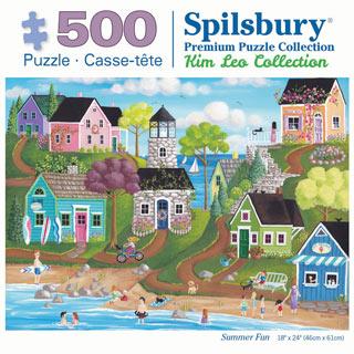 Summer Fun 500 Piece Jigsaw Puzzle