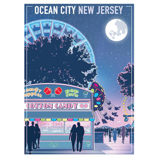 Ocean City New Jersey 300 Large Piece Jigsaw Puzzle