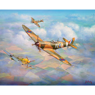 Warriors of the Sky 1000 Piece Jigsaw Puzzle