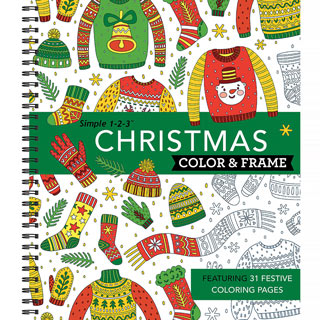 Color Counts Book - Ugly Christmas Sweaters