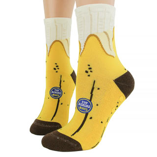 Banana Slipper Socks