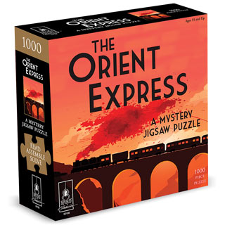 The Orient Express Mystery 1000 Piece Jigsaw Puzzle