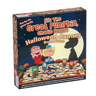 The Great Pumpkin Journey Board Game