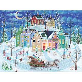 Ride Around Town 300 Large Piece Jigsaw Puzzle
