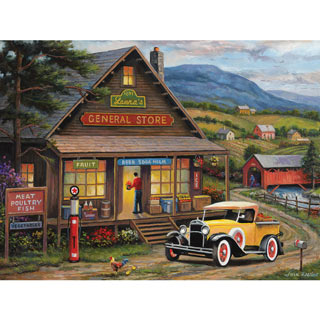 Laura's General Store 500 Piece Jigsaw Puzzle