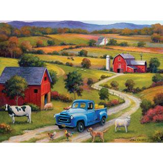 Down On The Farm 1000 Piece Jigsaw Puzzle