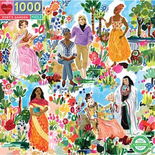 Poet's Garden 1000 Piece Jigsaw Puzzle