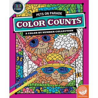 Color Count Book - Pets on Parade