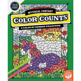 Color Count Book - Mythical Fantasy