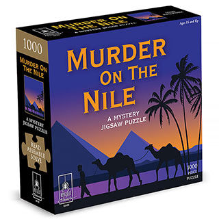 Murder On The Nile Mystery 1000 Piece Jigsaw Puzzle