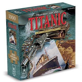 Titanic Mystery 1000 Piece Jigsaw Puzzle