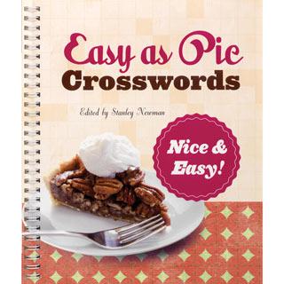 Easy as Pie Crossword Book - Nice & Easy
