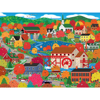 Old Mill Pond 500 Piece Jigsaw Puzzle