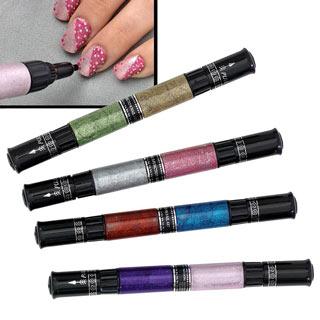 Glitter Nail Art Pen Set