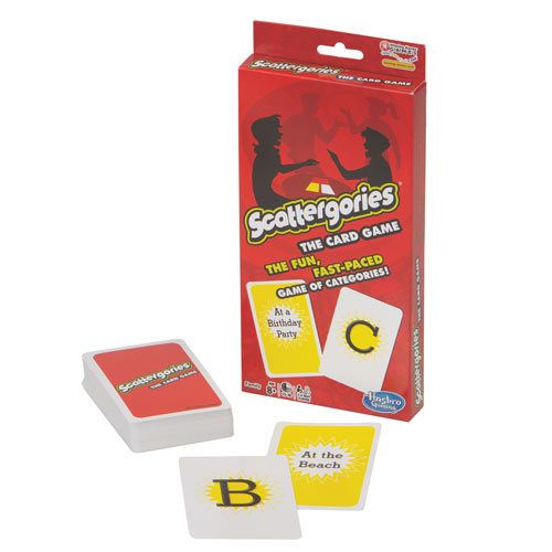 Scattergories Card Game