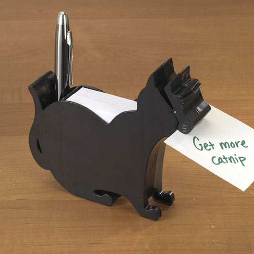 Cat Pen & Note Holder