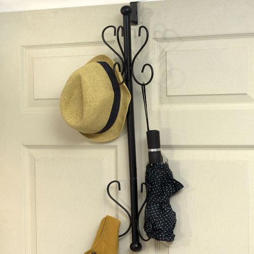 Over-the-Door Coat Rack