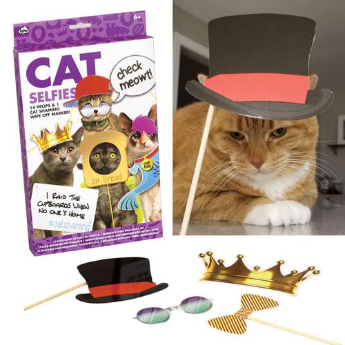 Pet Selfies Kit - Cat