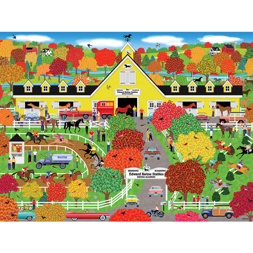 Horse Lover's Paradise 500 Piece Jigsaw Puzzle