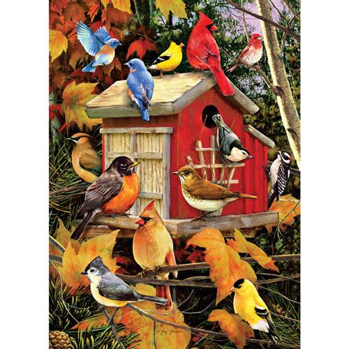 Fall Birds 1000 Piece Jigsaw Puzzle