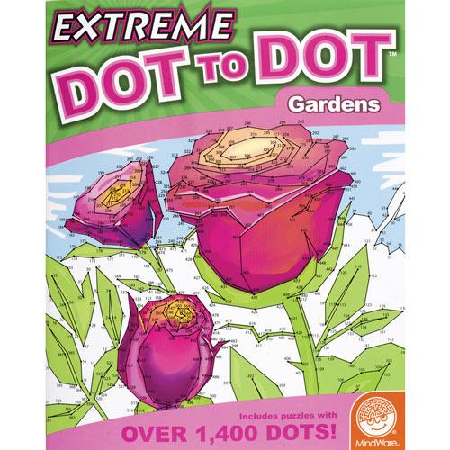 Gardens - Extreme Dot to Dot Books