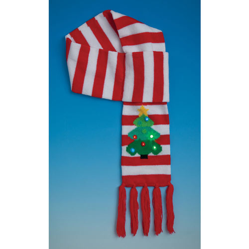 Christmas Tree Scarf
