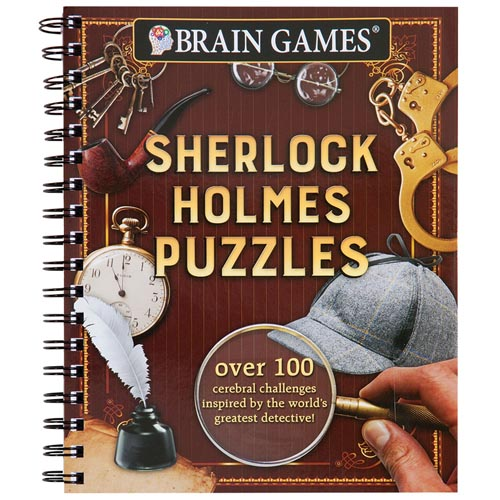 Crime Puzzle Book - Sherlock Holmes