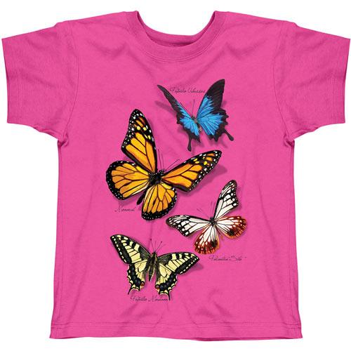 Butterfly Exhibit Glitter Tee